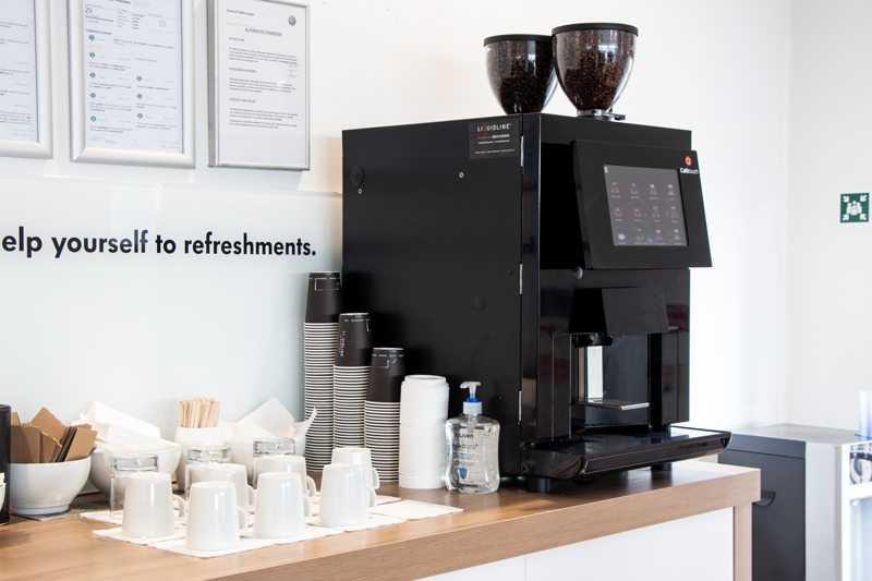 Cafetouch 4600 machine in Volkswagen Ipswich