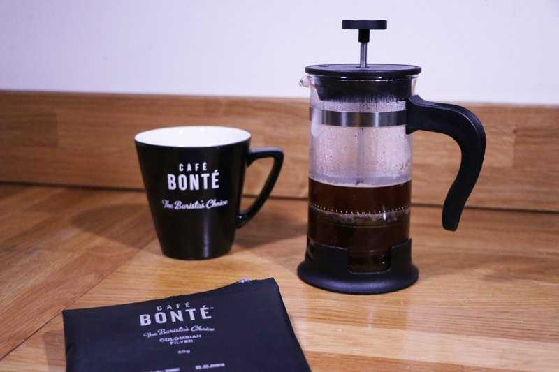 filter coffee and cafetiere
