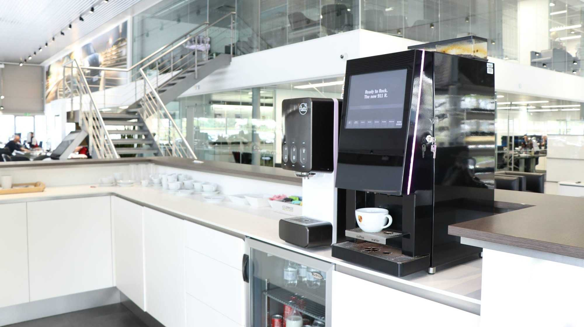 Porsche coffee machine