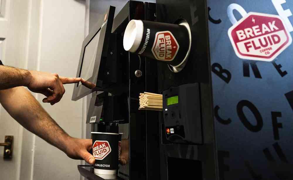 Break Fluid Coffee to Go Machine
