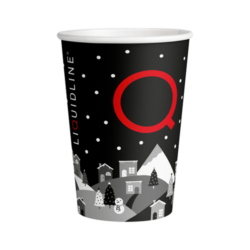 Winter 8oz Paper Cups