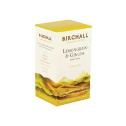 Birchall Lemongrass & Ginger Teabags