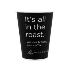 12oz Picco Coffee Co. Single Wall Cup