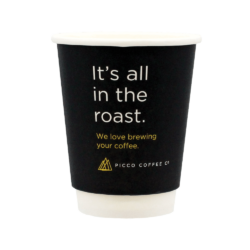 12oz Picco Coffee Co. Double Wall Matt Cup