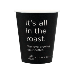 8oz Picco Coffee Co. Single Wall Cup