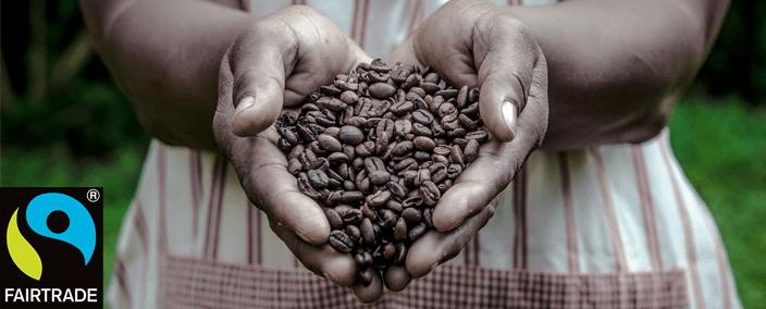 COFFEE FARMER HOLDING BEANS