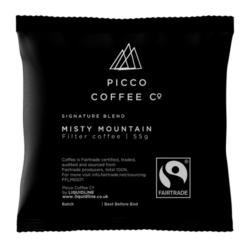 Misty Mountain Fairtrade Filter Coffee 55g