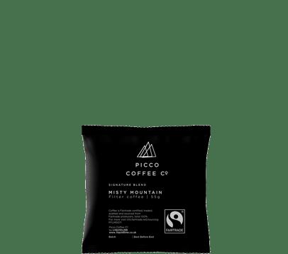 PICCO COFFEE CO FAIRTRADE COFFEE BAG