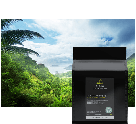 picco coffee co lento arrosto coffee beans