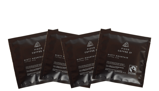 Picco Coffee Co Misty Mountain Coffee bags