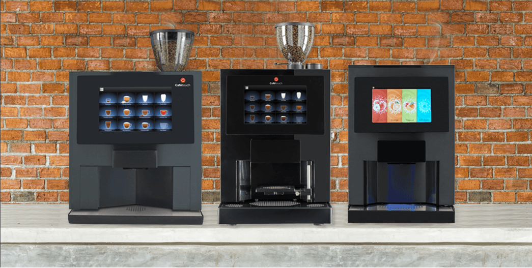 HLF Cafetouch 3600 cafetouch 8 bean to cup coffee machines and juice touch juice dispenser