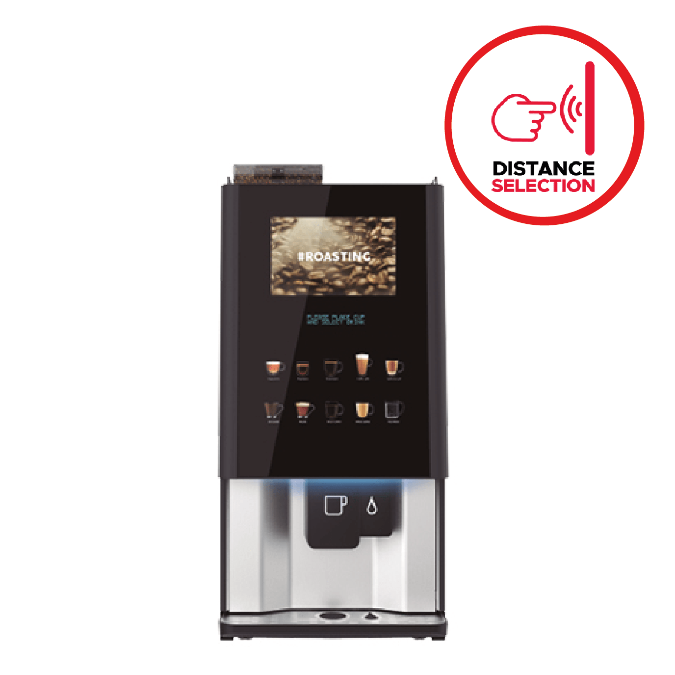 Vitro X Range with Patented Distance Selection Technology by Coffeetek
