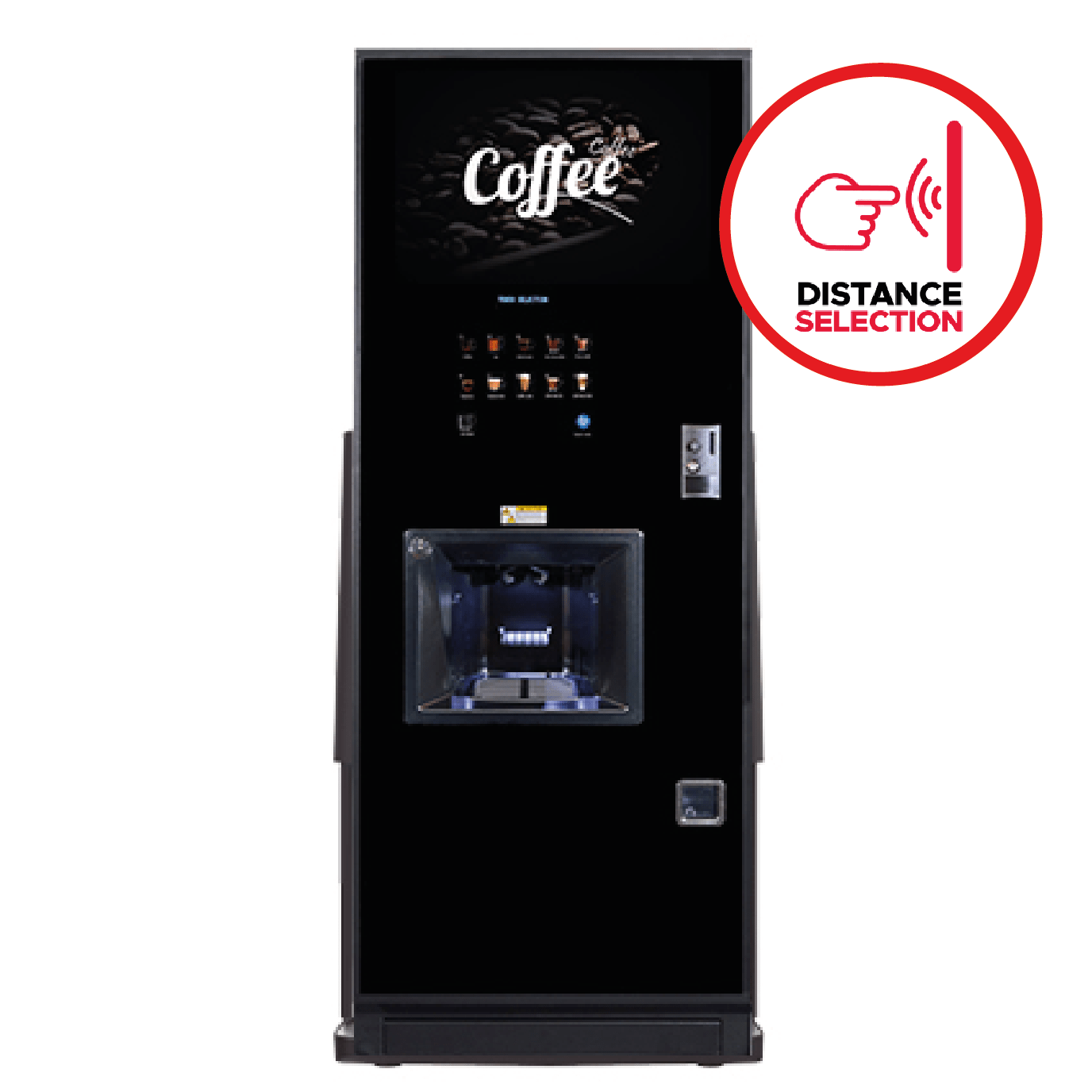 Vitro Neo with Patented Distance Selection Technology by Coffeetek