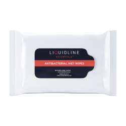 Liquidline Essentials Anti-bacterial Wet Wipes