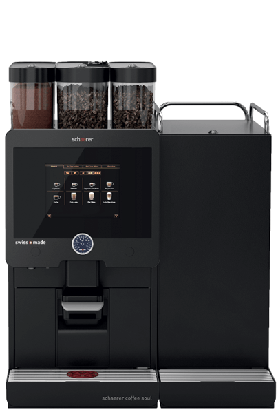 Schaerer soul coffee machine ready for recomissioning
