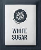 Change please white sugar sachet
