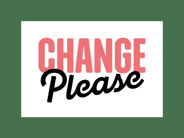 Change Please Logo