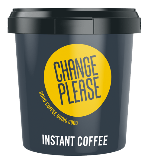 change please instant coffee tub 500g