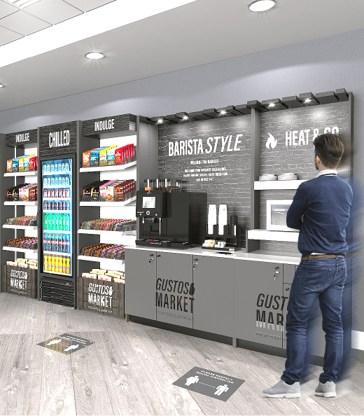 Micro Markets offer several advantages over traditional vending machines