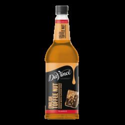 DaVinci English Toffee Nut Syrup 1L